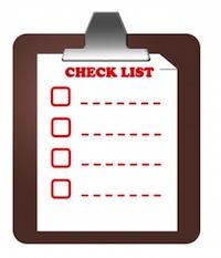 Short Sale Checklist