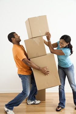 tenants moving in rental property